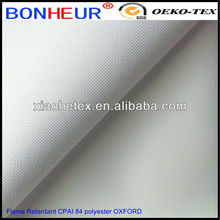 100% poly tarpaulin FR coating fabric for tent