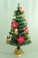 2ft small fiber optic christmas tree / fiber optic christmas tree walmart