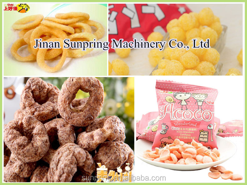 Onion rings snack food extruder machine/processing line