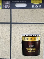 Super adhesion waterproof alkali resistant paint wall for exterior