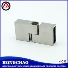 Good quality 304 sus square steel tube connectors
