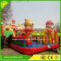 Inflatable castle, inflatable bounce house, used commercial inflatable bouncers for sale