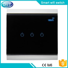 wifi power touch light switch remote control smart home switch