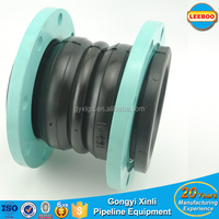 EPDM Double Sphere flexible flange rubber joint with DIN standard