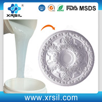 10:1 platinum cured rtv liquid silicone rubber for molding plaster mold