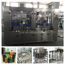 Jiangsu manufacturer plastic bottle carbonated drink filling plant