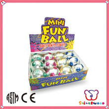 ICTI Factory colorful printed promotional pvc mini football