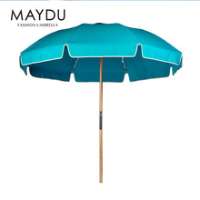 Shanghai MAYDU 2017 polyester promotional outdoor beach umbrella