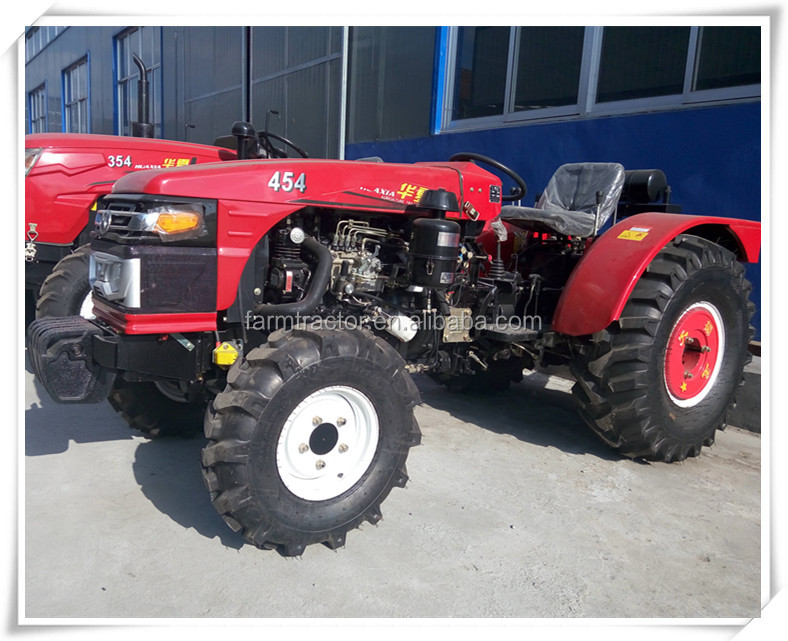 Best selling huaxia tractor 454, orchard tractor 45hp , garden narrow tractor and fruit tractor