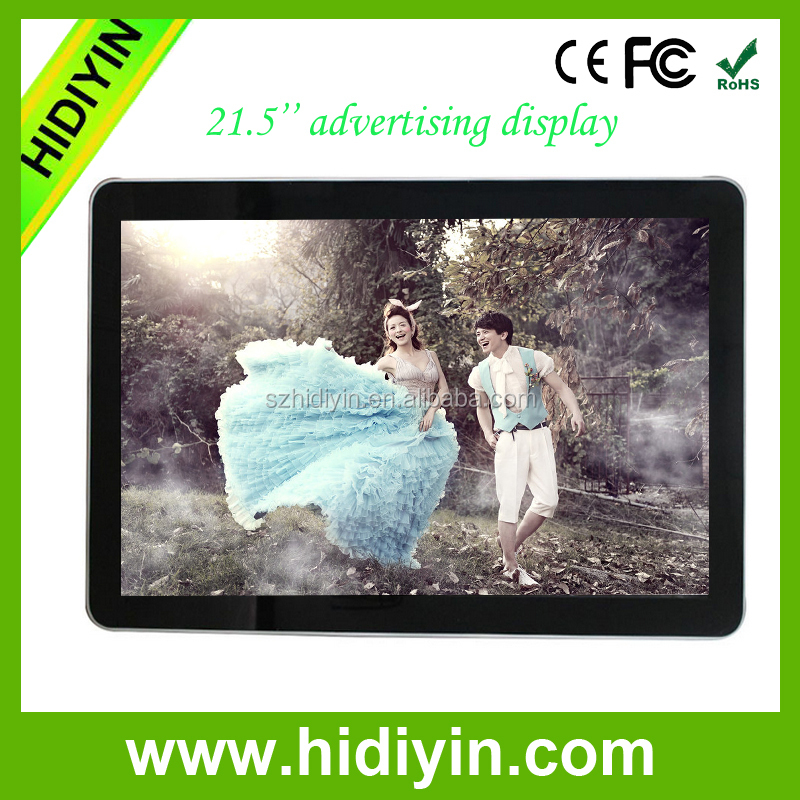 "21.5"" inch Wall Mounted Android All In One PC with LED Touch Panel for Advertising"