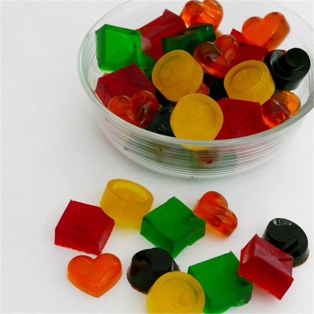 Supplement DHA gummy Love bear jelly sweet powder oil