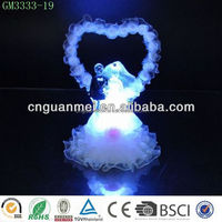 LED wholesale hand made craft wedding gifts/valentine gift