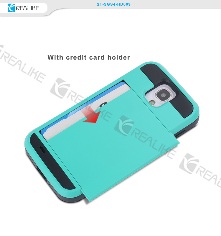 Fashion design case with credit card holder lovely skin cover for samsung galaxy s3 s4 j7