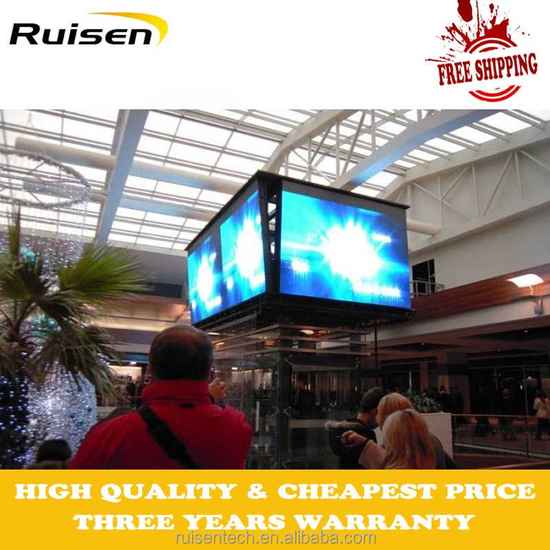 Factory Price Full Color P4 P5 P6 P8 P10 P16 P20 LED Display panel front service /led screen retail /led screen outdoor pharmacy