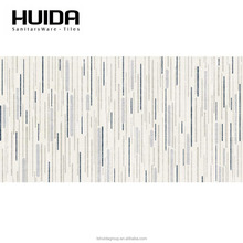 HUIDA sanitary ware black grey brown yellow coffee white color 300*600mm 3d wall tile kitchen tile bathroom tile QPYW06105H