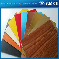 PVDF coated alucobond cheap price for decoration