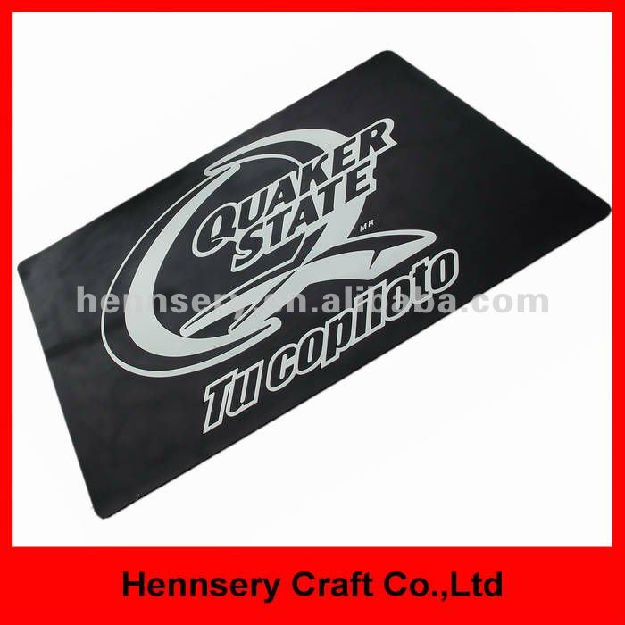 soft pvc 3D small moq custom rubber doormat for custom logo