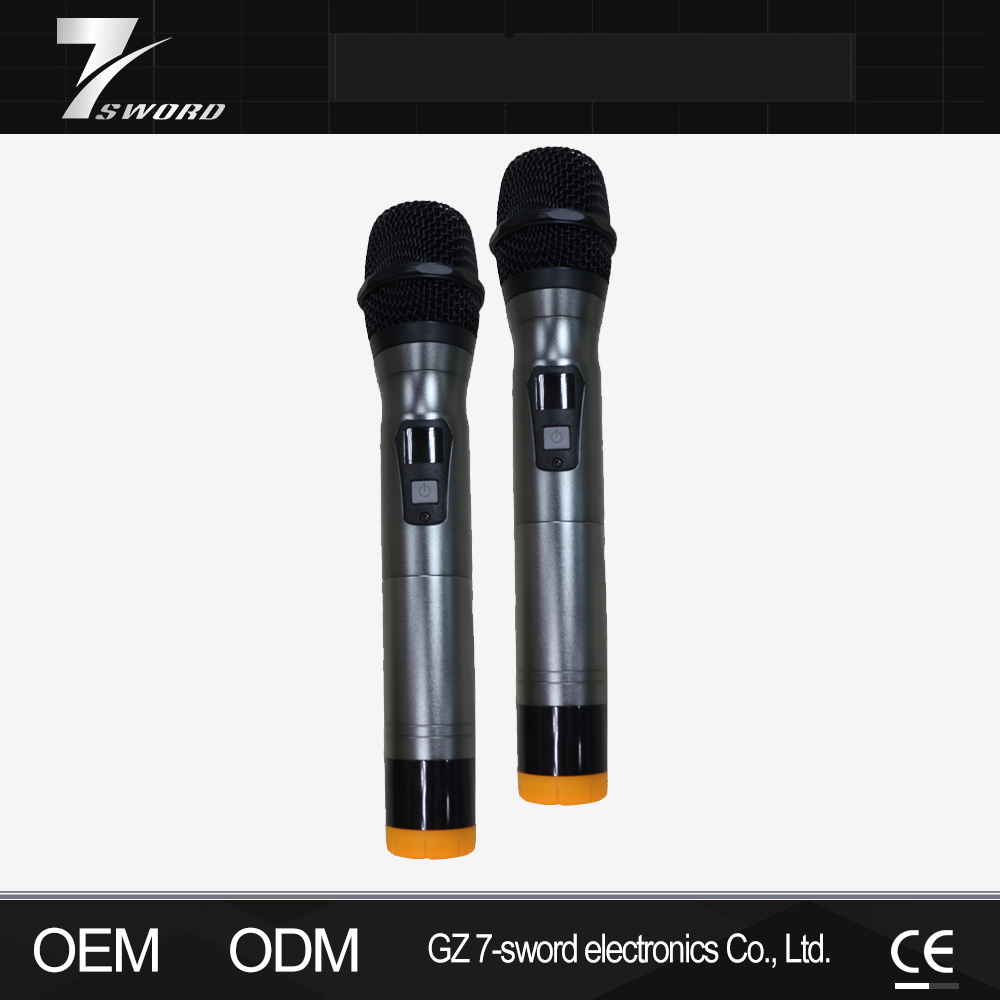 Pro China Microphone Wireless for Karaoke Wireless Microphone Sets