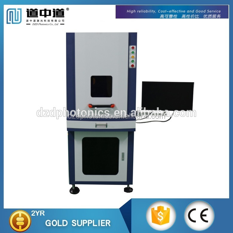 Hot 3W High Precision UV Laser marking engraving Machine For metal and non-metal material