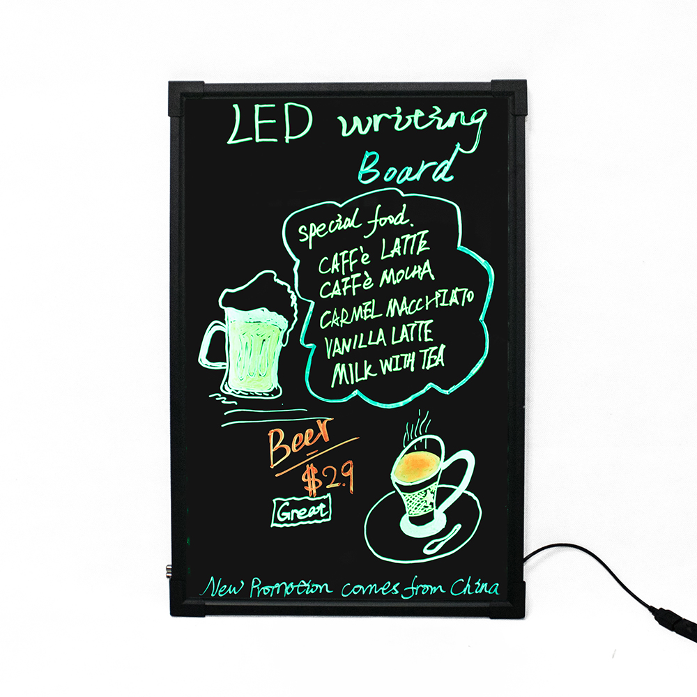 alibaba express high quality remote control led writing board