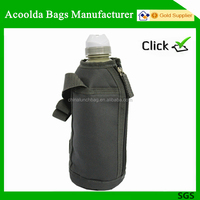 Wine bottle cooler bag