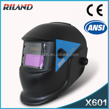 Riland Factory Price for Quality X601 OEM ODM Auto Darkening flip up welding helmet