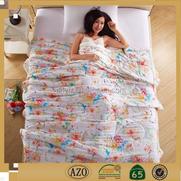 Luxury beautiful fashion home textile digital printed chinese bedding set