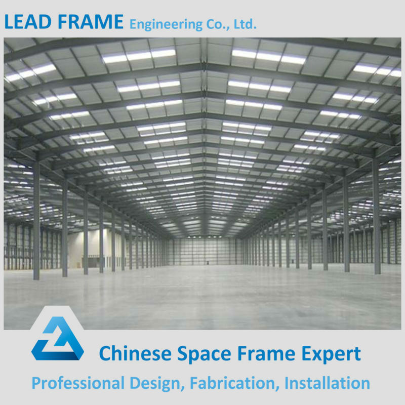 Long Span Strong Windproof Steel Frame Building Construction Material