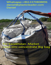 Kazakhstan 2500kgs PP lead-zinc concentrate jumbo big mineral bag