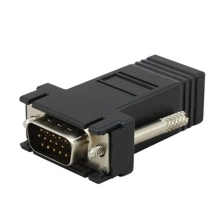 CAT5/5E/6 rj45 to vga adapter
