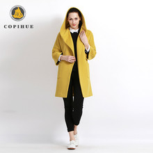 Competitive Price Traditional Chinese Yellow Lady Winter Coat