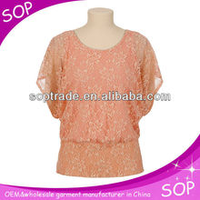 Latest shirt designs for women clothes casual short sleeves blouses and tops