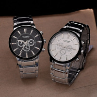 Men's Fashion CURREN Brand Japan Movement Stainless Steel Watch