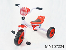 Baby ride on tricycle with 3 wheels children tricycle with music baby trike