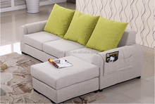 Fabric sofa modern minimalist small apartment sofa corner washable small living room sofa