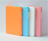 New Hot Fashion Promotion Ultra Slim Usb Mobile Power Bank