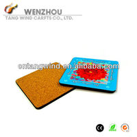 Cork Drink Coaster/cup mat pad table protector