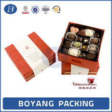 Color printed lovely design sweet gift packaging boxes