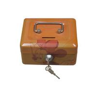 Portable safe money bank box
