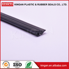 Glass protective strip extrude rubber seal strip for door and window silicone rubber edging t channel rubber strip