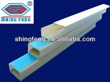 17 years Experiences PVC Trunking/ PVC Cable Trunking China Manufacturer