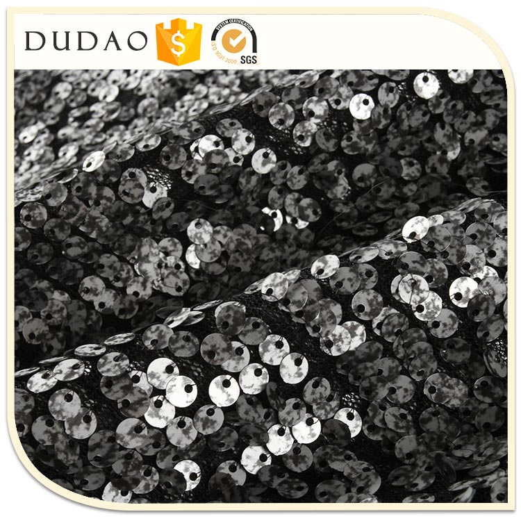 2017 New Hot Selling embroidery fabric Luxury stone fabric beads