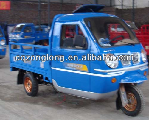 tricycle with total driver cabine