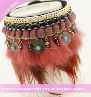 Handmade Boho Feather New Design Anklet
