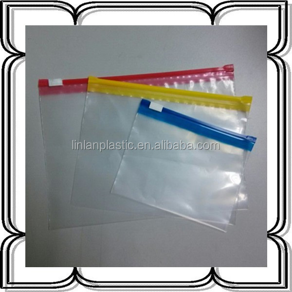 Clear plastic clothes packaging bags slider zip lock bag for Clear shirt packaging bags