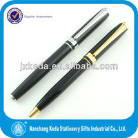 High-end roller pen refill gel free liquid ink logo roller ball pen