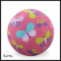 8.5inch inflatable rubber playground ball for kid