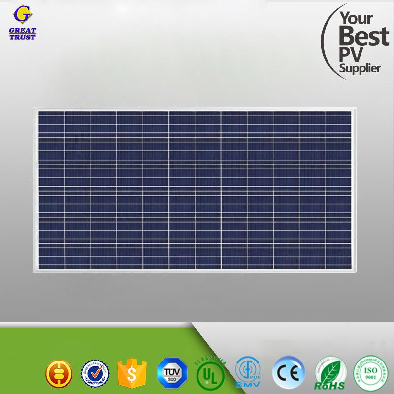 Mono 12v 100w solar panels with TUV CE for solar light system