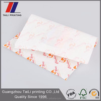 Food grade ink printed paper sandwiches/sandwich paper white in dubai