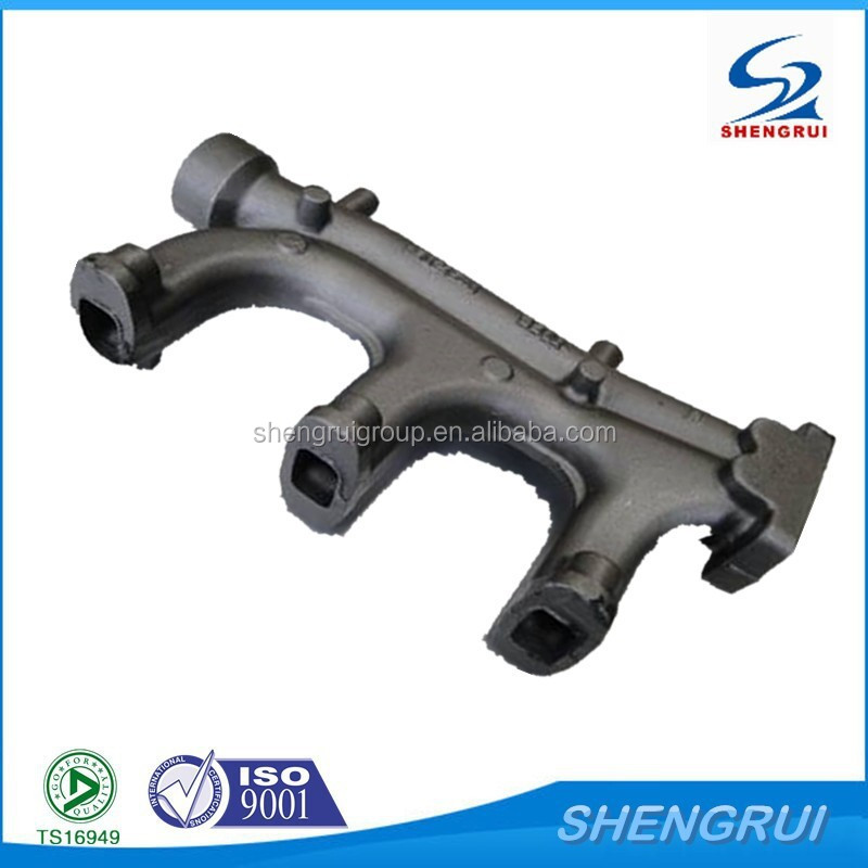 High Quality Cast Iron Exhaust Manifold for Heavy Truck,Marine exhaust manifolds